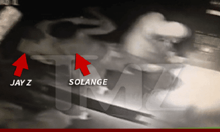 Jay-Z Physically Attacked by Solange Knowles