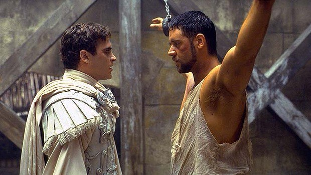 Gladiator's one of the most inaccurate historical movies