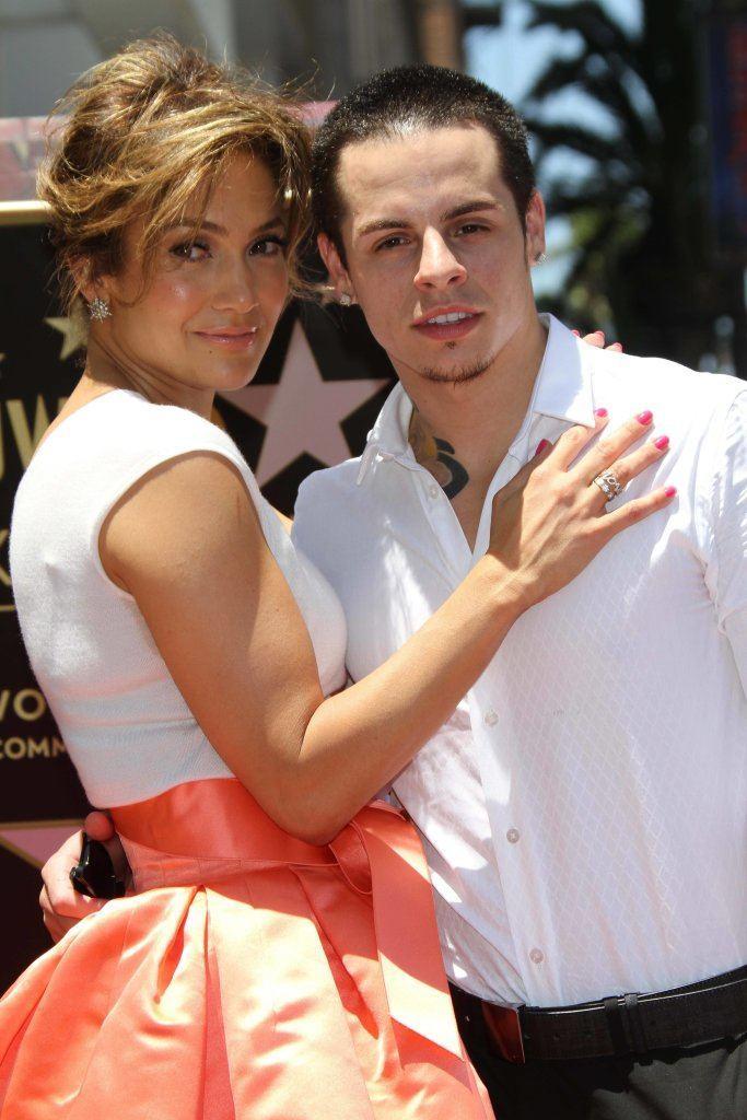 Jennifer Lopez and Casper Smart at the Jennifer Lopez Star on the Walk of Fame ceremony, Hollywood, CA 06-20-13