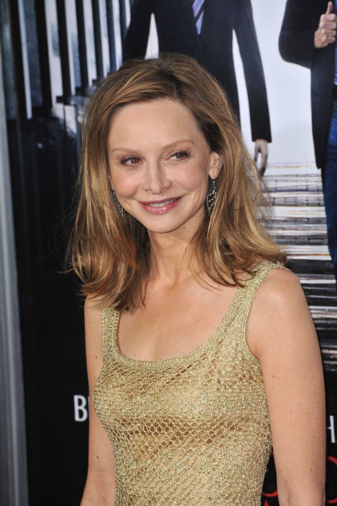 "Calista Flockhart at the premiere of ""Extraordinary Measures"" at Grauman's Chinese Theatre, Hollywood. January 19, 2010 Los Angeles, CA"