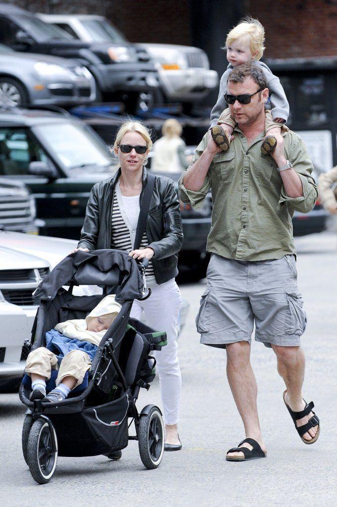 Naomi Watts and Liev Shreiber