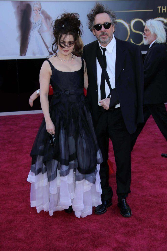 Tim Burton and Helena Carter