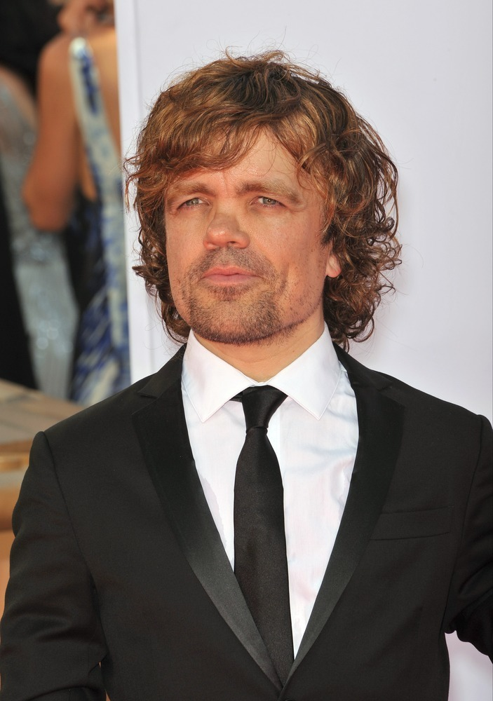 LOS ANGELES, CA - SEPTEMBER 23, 2012: Peter Dinklage at the 64th Primetime Emmy Awards at the Nokia Theatre LA Live.