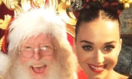 celebrity christmas selfies