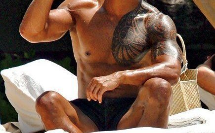 male celebrity beach bodies