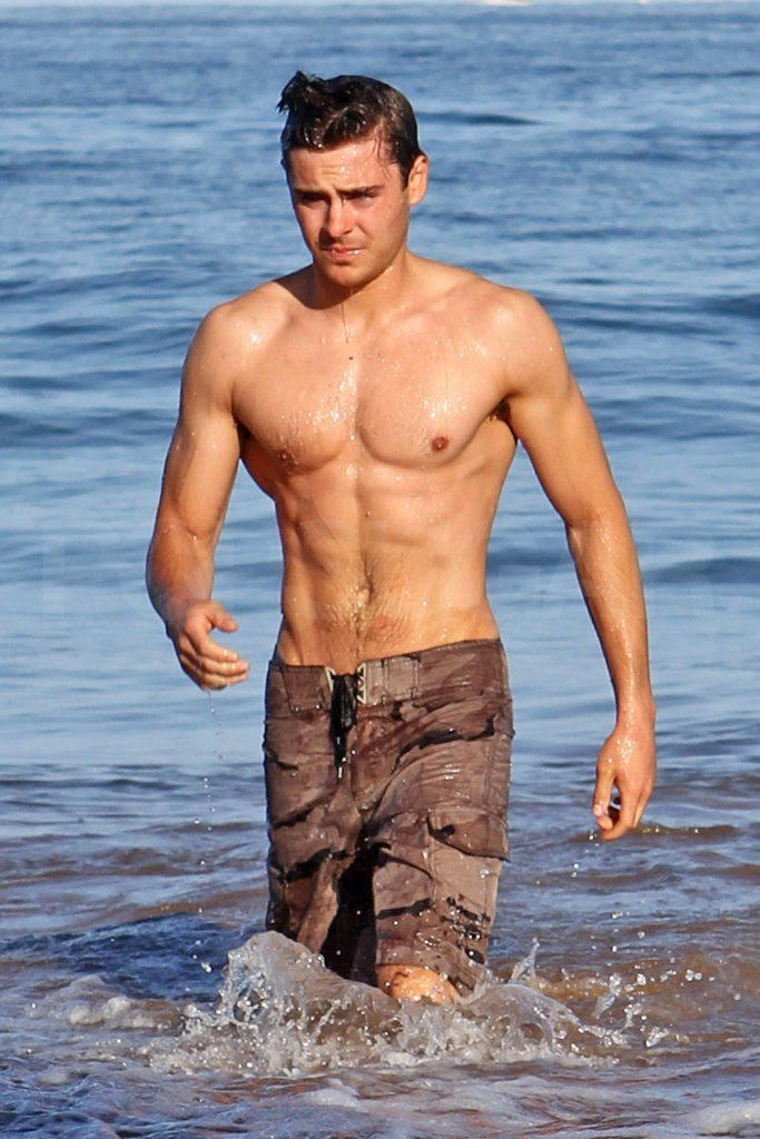 Best celebrity beach bodies male country