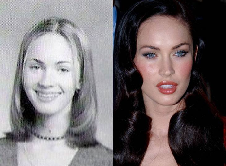 good looking celebs who used to be ugly