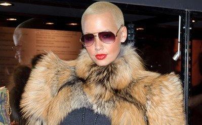 celebs who wear fur