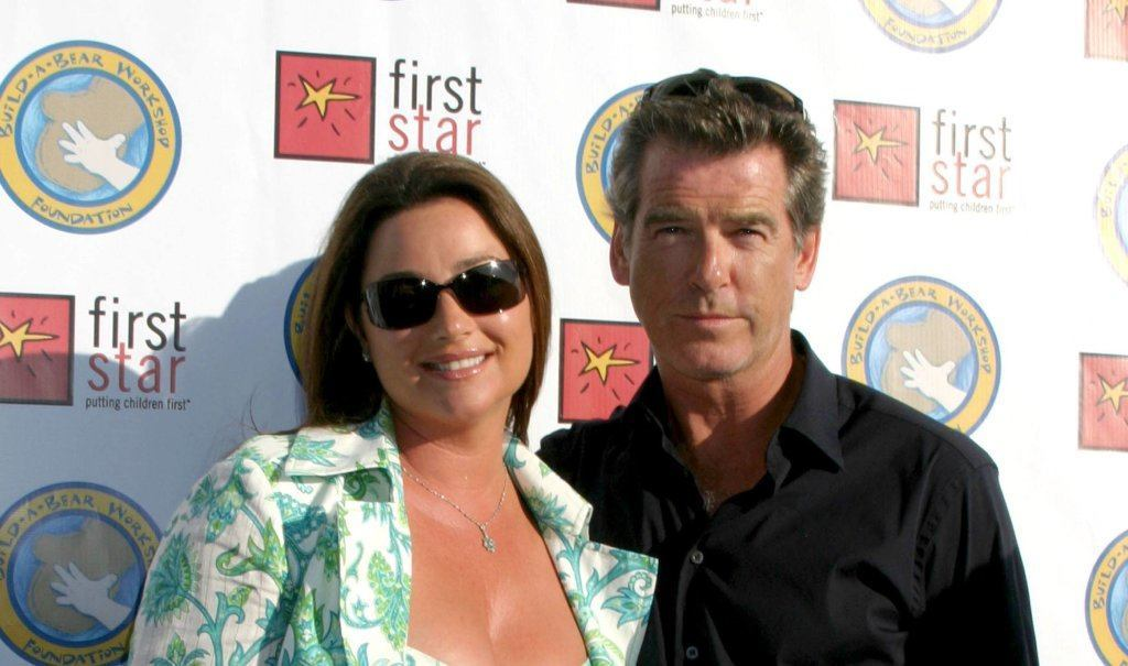 pierce brosnan and wife
