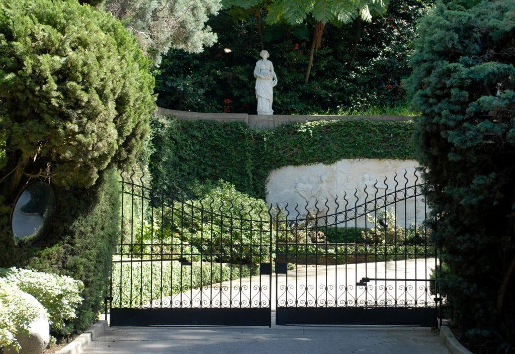 Plaboy Mansion Gates