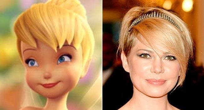 michelle williams tinkerbell