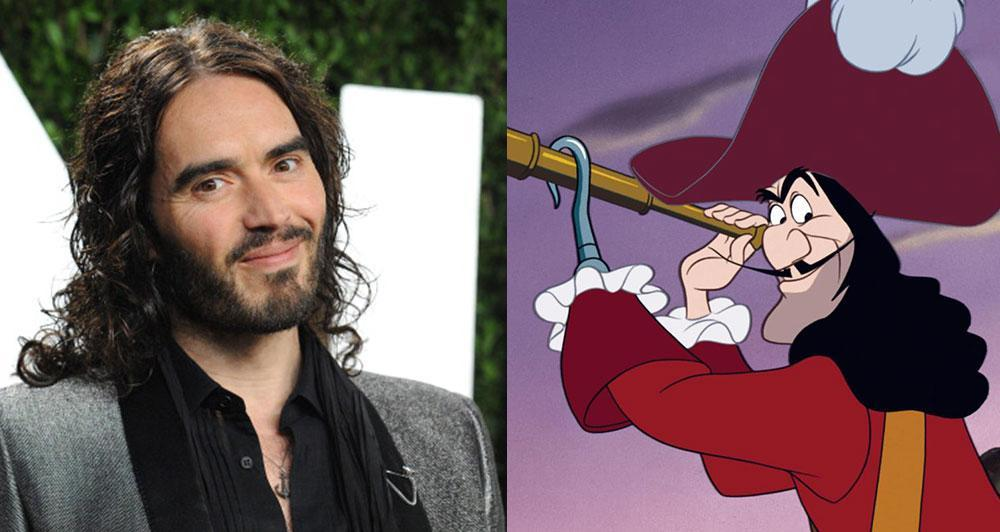 russell brand captain hook
