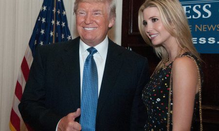 Donald Trump And His Daughter Ivanka