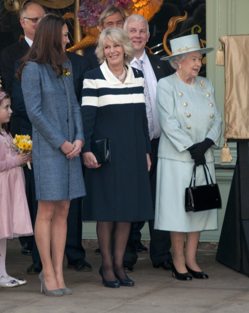 Queen Elizabeth II, Camilla Duchess Of Cornwall And Catherine Duchess Of Cambridge Picture: Catchlight Media / Featureflash