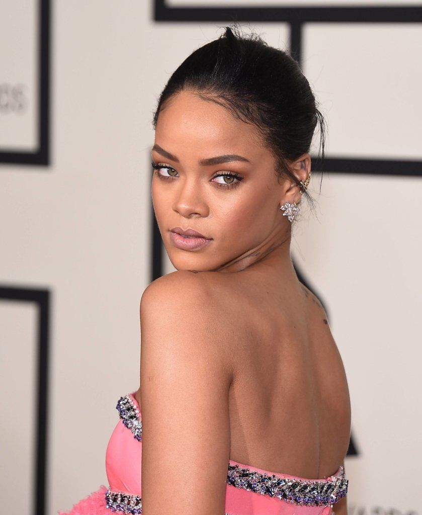 Rihanna At Grammy Awards 2015
