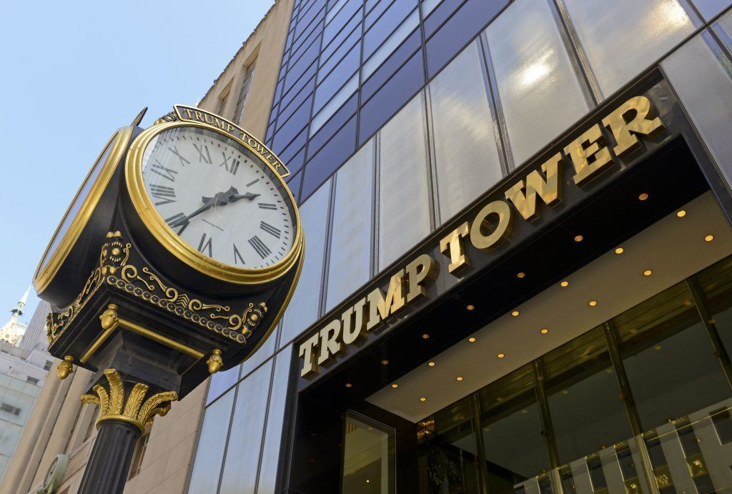 Trump Tower On Fifth Avenue