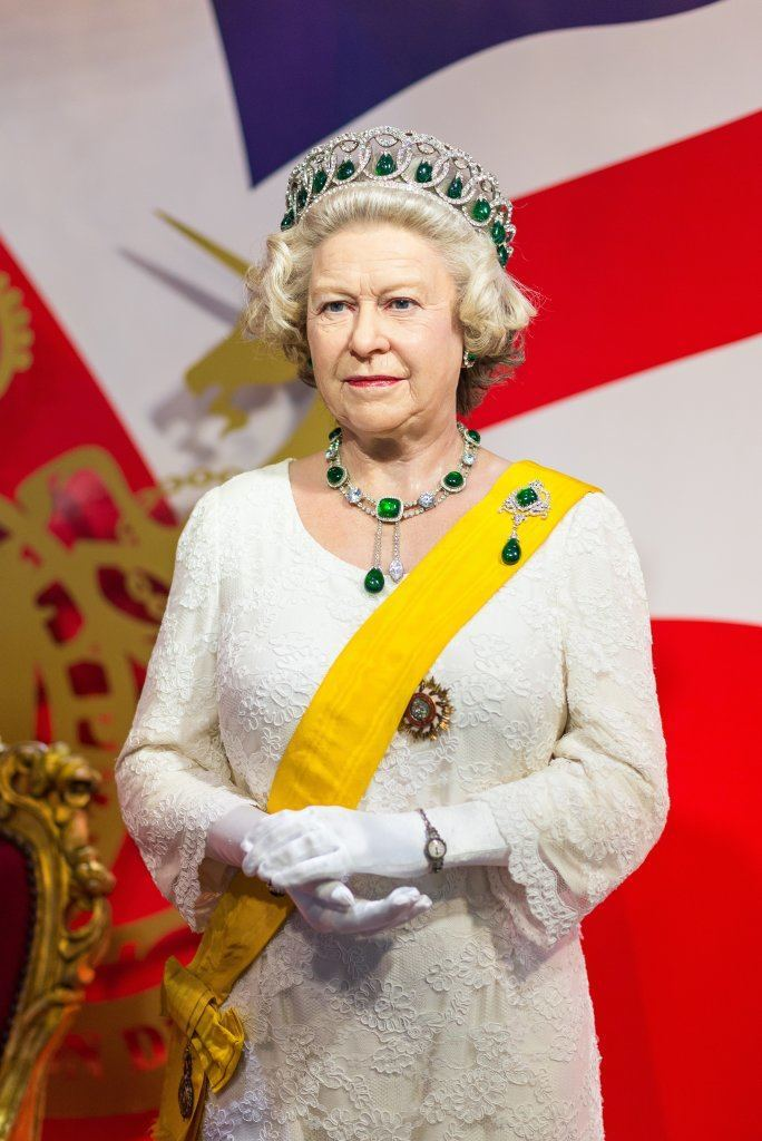 Waxwork Of Queen Elizabeth