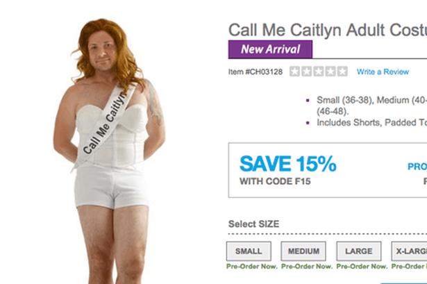 caitlyn jenner costume