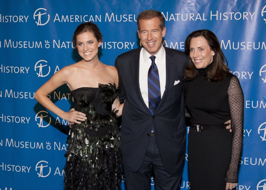 Brian Williams, With Daughter Allison