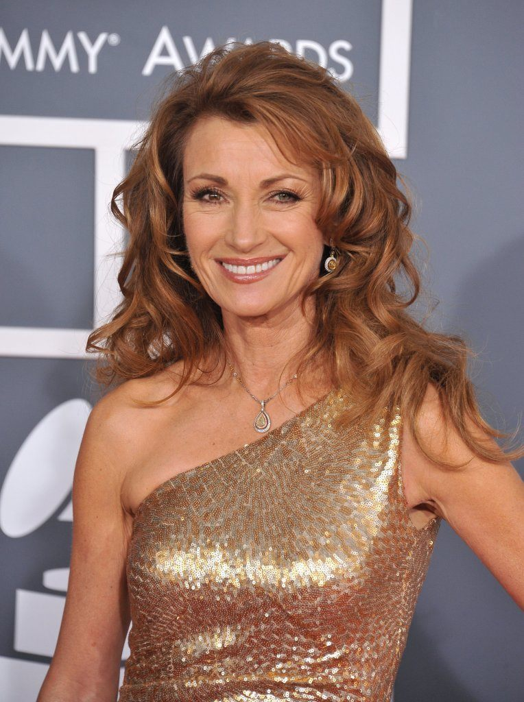 Jane Seymour At The 54th Annual Grammy Awards