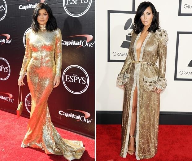 kylie kim gold dress