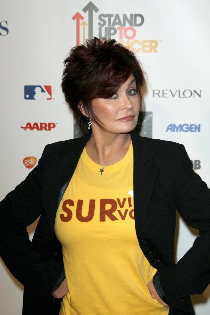 Sharon Osbourne At Stand Up To Cancer