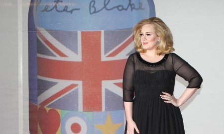 Adele Arriving For The 2012 Brit Awards