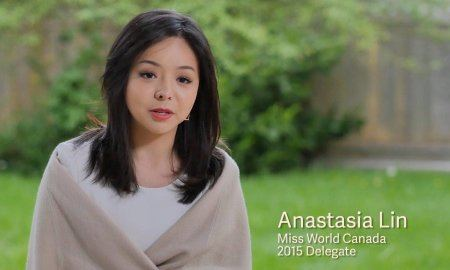 Anastasia Lin Miss World Canada