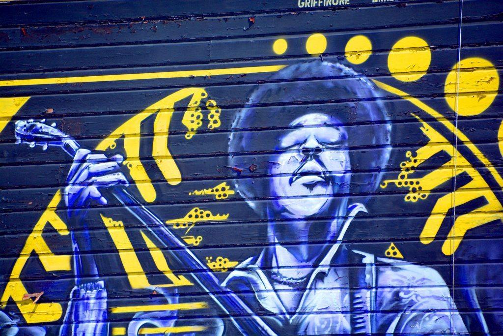 Jimi Hendrix Mural.