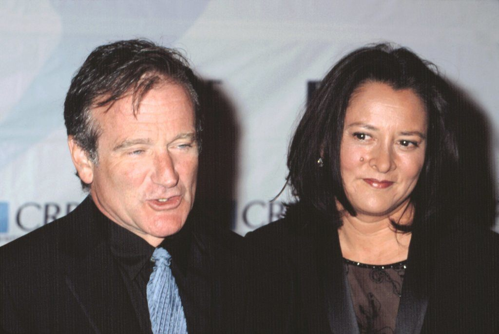 Robin Williams And Wife Marcia