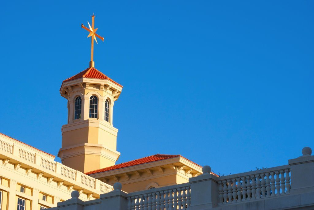 Scientology Architecture In Clearwater, Florida.