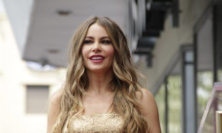 Sofia Vergara At The Hollywood Walk Of Fame Ceremony