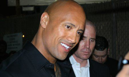Actor Dwayne Johnson, The Rock