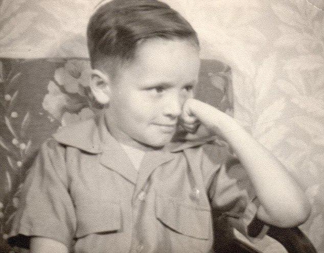 Charles Manson as a kid