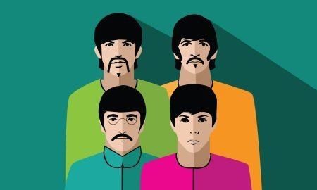 Illustration Of The Beatles