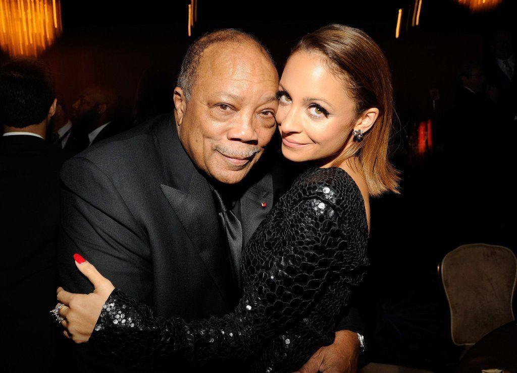 Quincy Jones and Nicole Richie