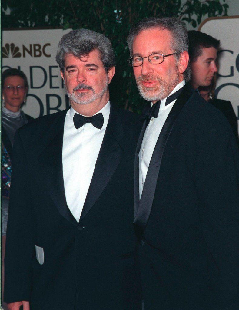 24jan99:  Directors Steven Spielberg and George Lucas