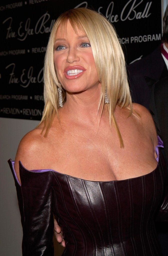Actress Suzanne Sommers