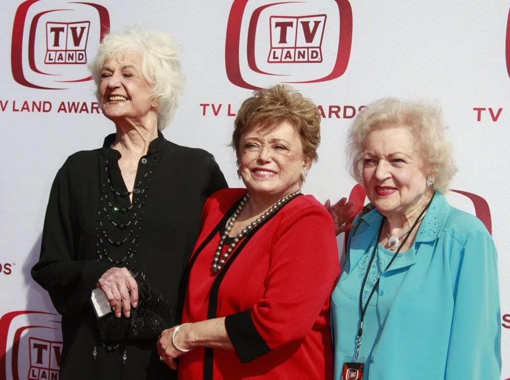 Bea Arthur, Rue Mcclanaghan And Betty White