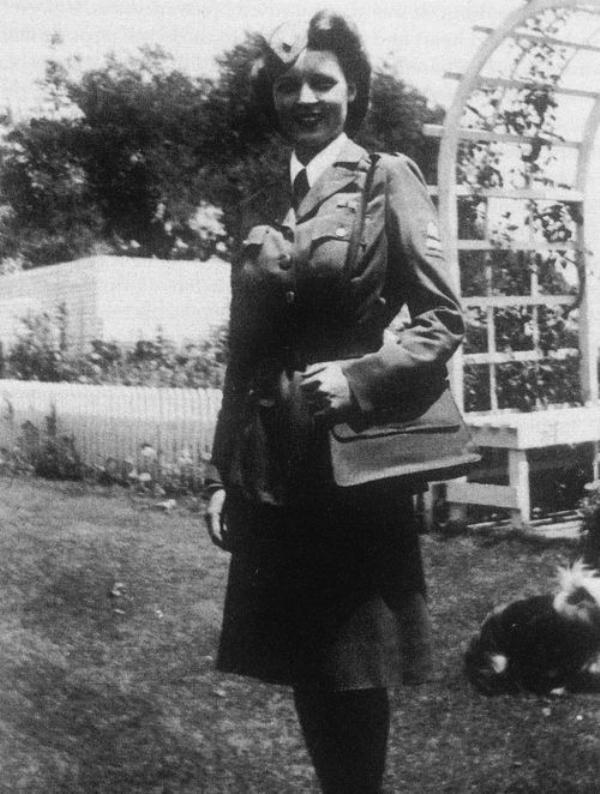 Betty White in World War II