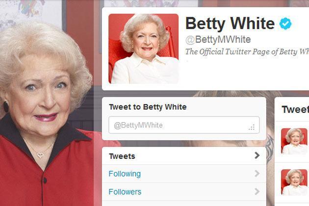 Betty White on Twitter