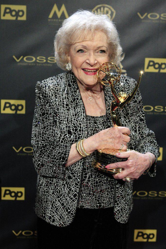 Betty White Receives Lifetime Achievement Award