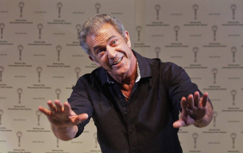 Director Mel Gibson