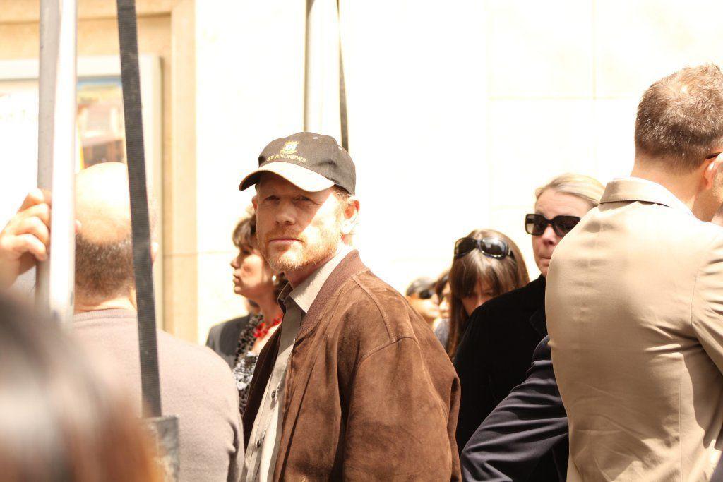 Director/Actor Ron Howard