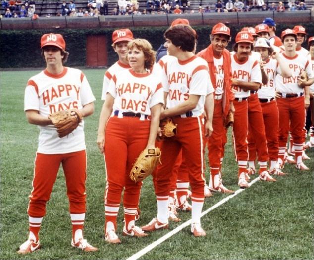 Happy Days softball team