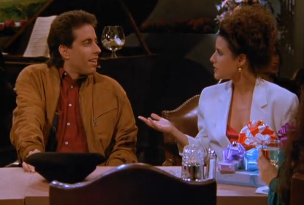 seinfeld jerry and elaine relationship counseling