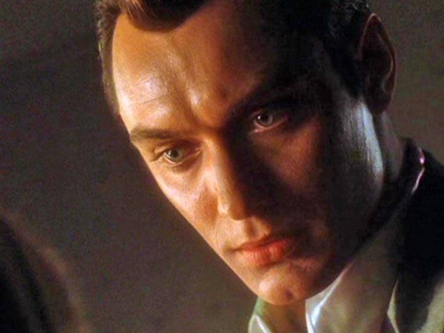 Jude Law as Gigolo Joe in AI
