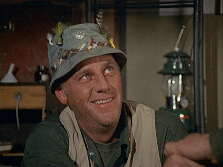 McLean Stevenson as Henry Blake on MASH