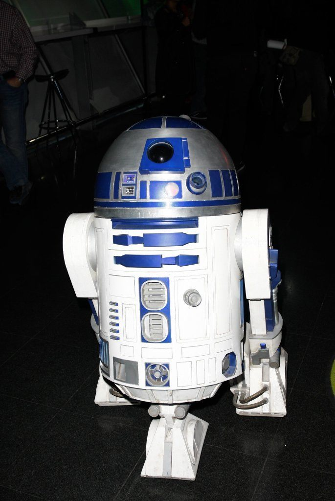 R2-D2. Star Wars Exhibition