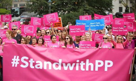 Rally for Planned Parenthood